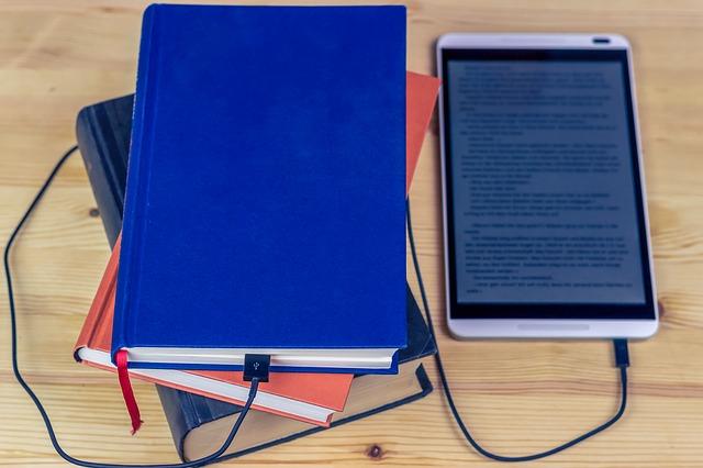 Chytrý telefon jako čtečka elektronických knih a veškerých textů