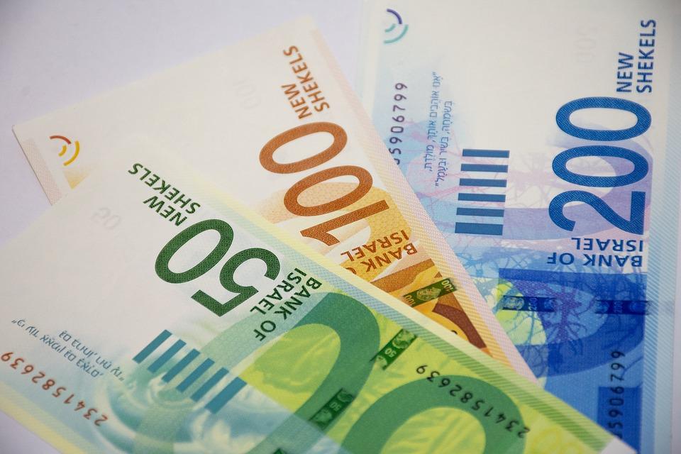 izraelské peníze